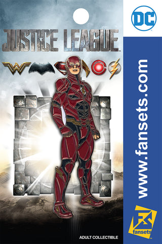 DC Comics Justice League MOVIE FLASH STYLE GUIDE Licensed FanSets Pin MicroJustice