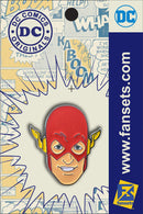 DC Classics The Flash Hero Head Licensed Fansets Pin