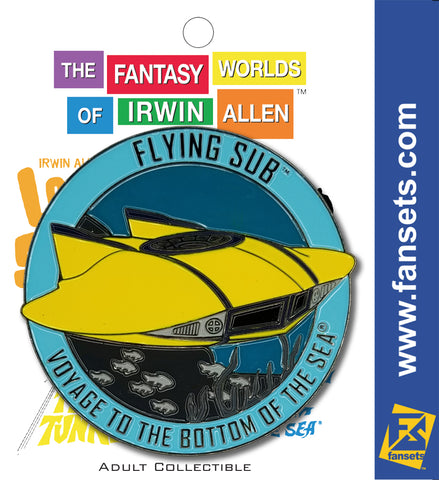 Irwin Allen™ Voyage to the Bottom of the Sea™ Flying Sub FanSets MicroFleet™ Pin