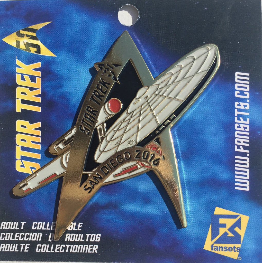 "2016 San Diego Limited Edition ""Enterprise"" Pin ( Limited Stock) Licensed Pin"