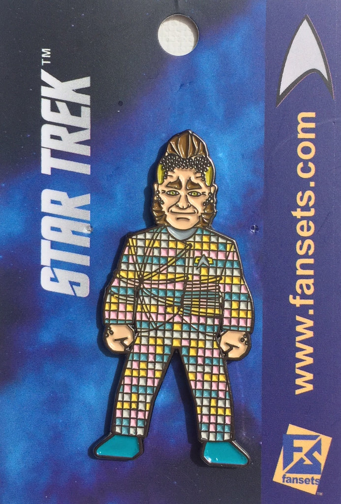 Star Trek NEELIX Licensed FanSets MicroCrew Collector's Pin