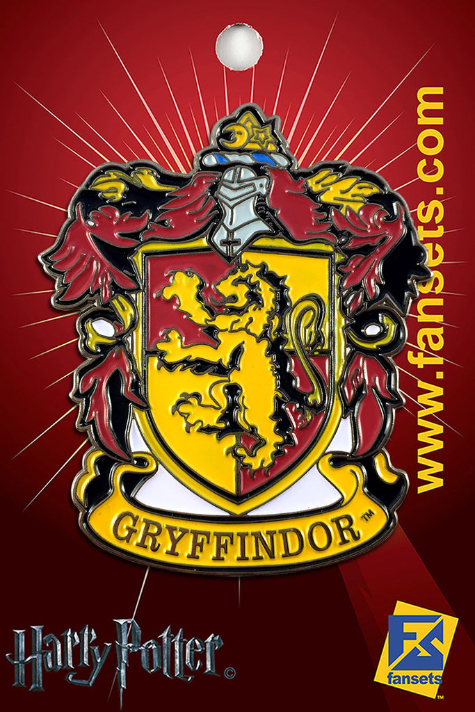 Harry Potter House Crest GRYFFINDOR Licensed FanSets Pin MicroMagic