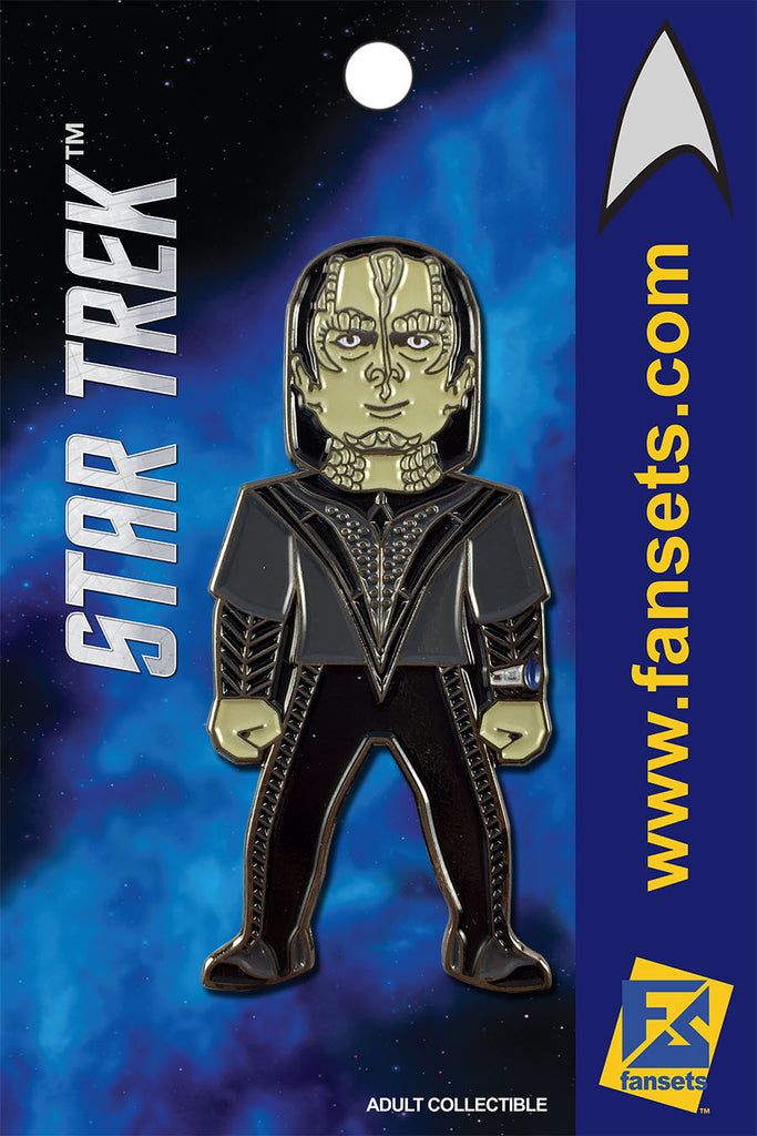 Star Trek Gul DUKAT Licensed FanSets MicroCrew Collector's Pin