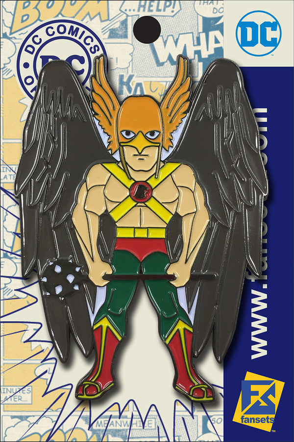 DC Comics Classic HAWKMAN Licensed FanSets Pin MicroJustice