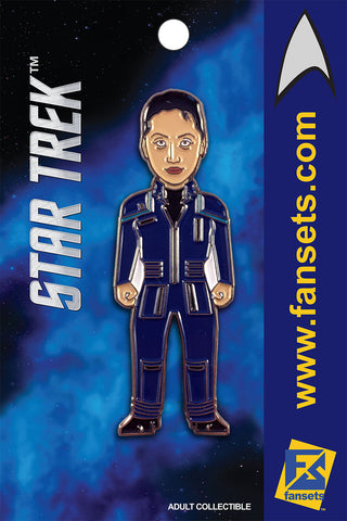 Star Trek HOSHI Sato Licensed FanSets MicroCrew Collector's Pin