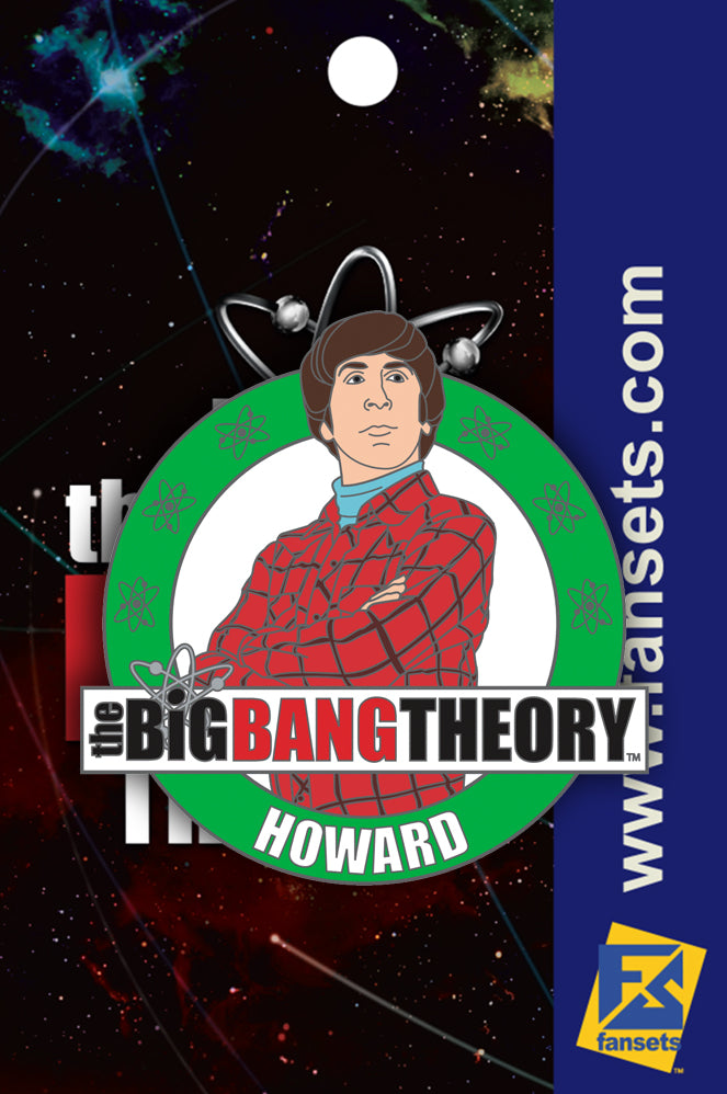Big Bang Theory Howard FanSet's Pin