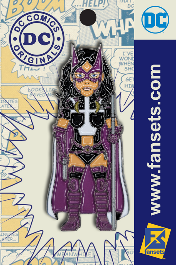 DC Comics Classic HUSH Huntress Licensed FanSets Pin