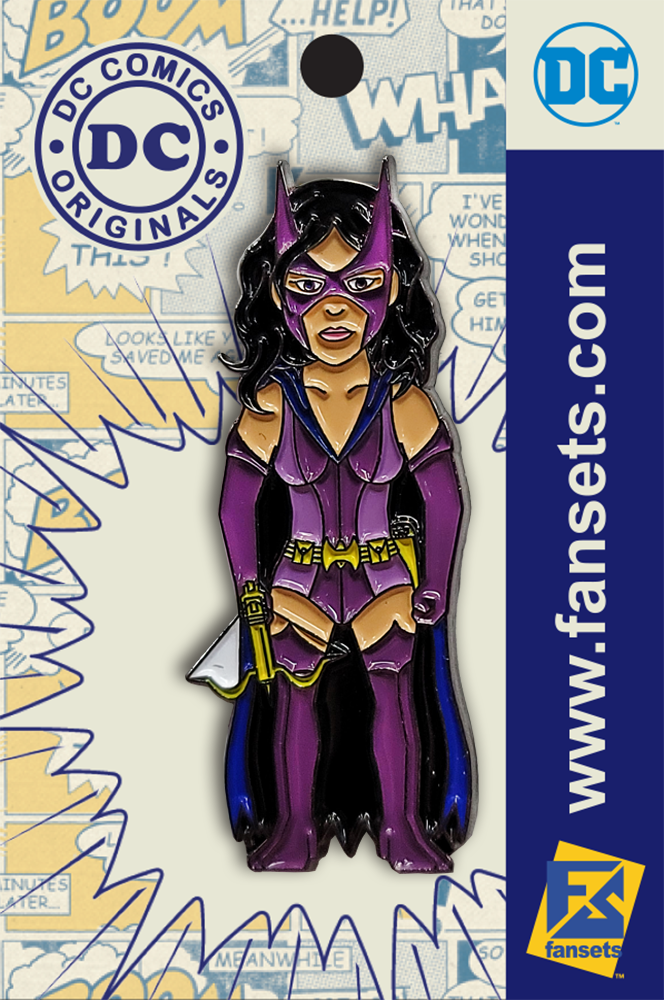 DC Classics HUNTRESS Licensed Fansets Pin