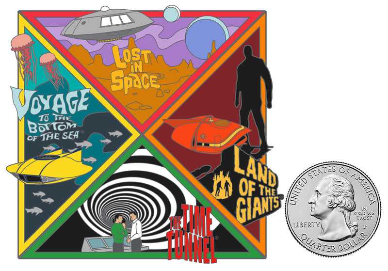 Irwin Allen's The Time Tunnel Part 4 of 4 FanSets™ Pin Collection