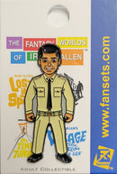 Irwin Allen's CAPTAIN CRANE from Voyage to the Bottom of the Sea FanSets™ Pin