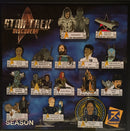 Star Trek Discovery Season Episode Backer and Frame Exclusive Licensed FanSets