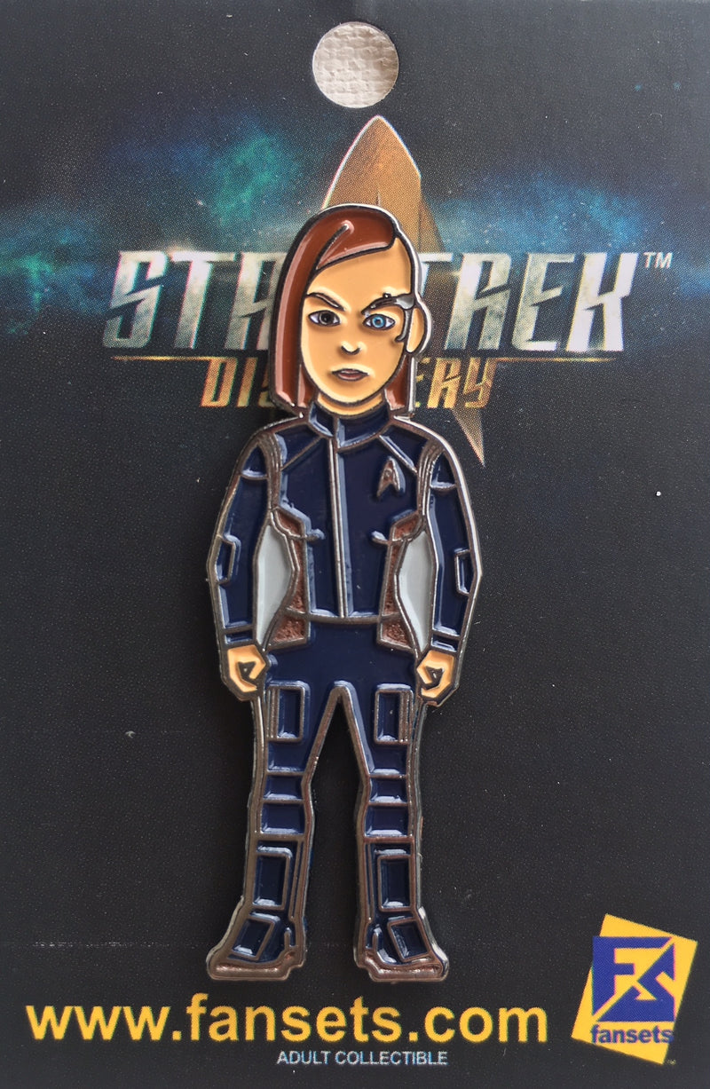 Star Trek Discovery Lieutenant KEYLA Detmer Licensed FanSets MicroCrew Collector's Pin