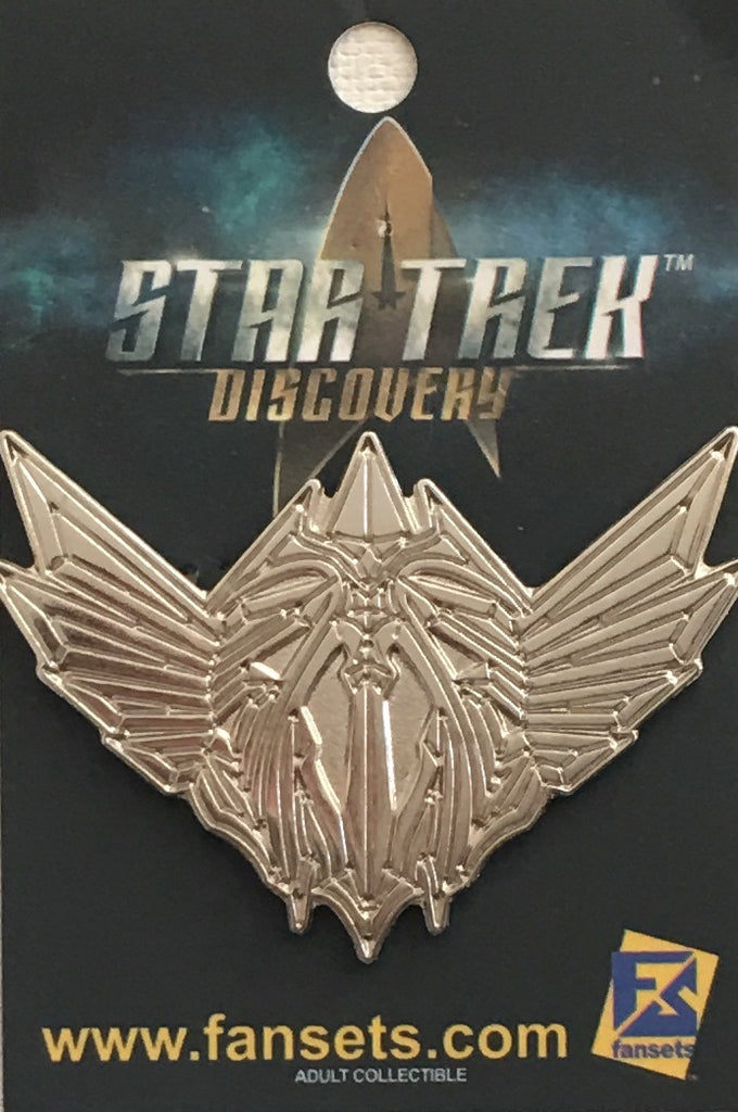 Star Trek Discovery Mirror Universe REBEL Symbol NYCC 2018 Exclusive Licensed FanSets MicroCrew Collector's Pin