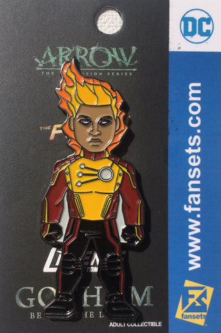 DC Comics DCTV FIRESTORM Licensed FanSets Pin