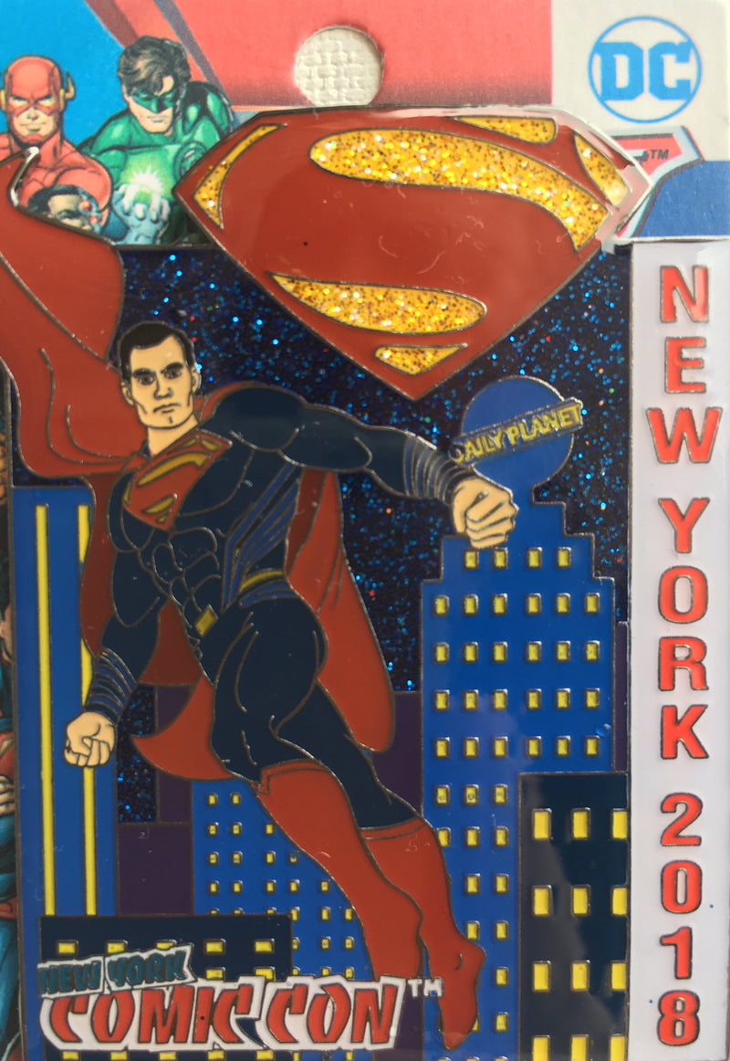 DC Comics Superman New York Comic Con Exclusive Part 3 of the DC Comics NY Trilogy