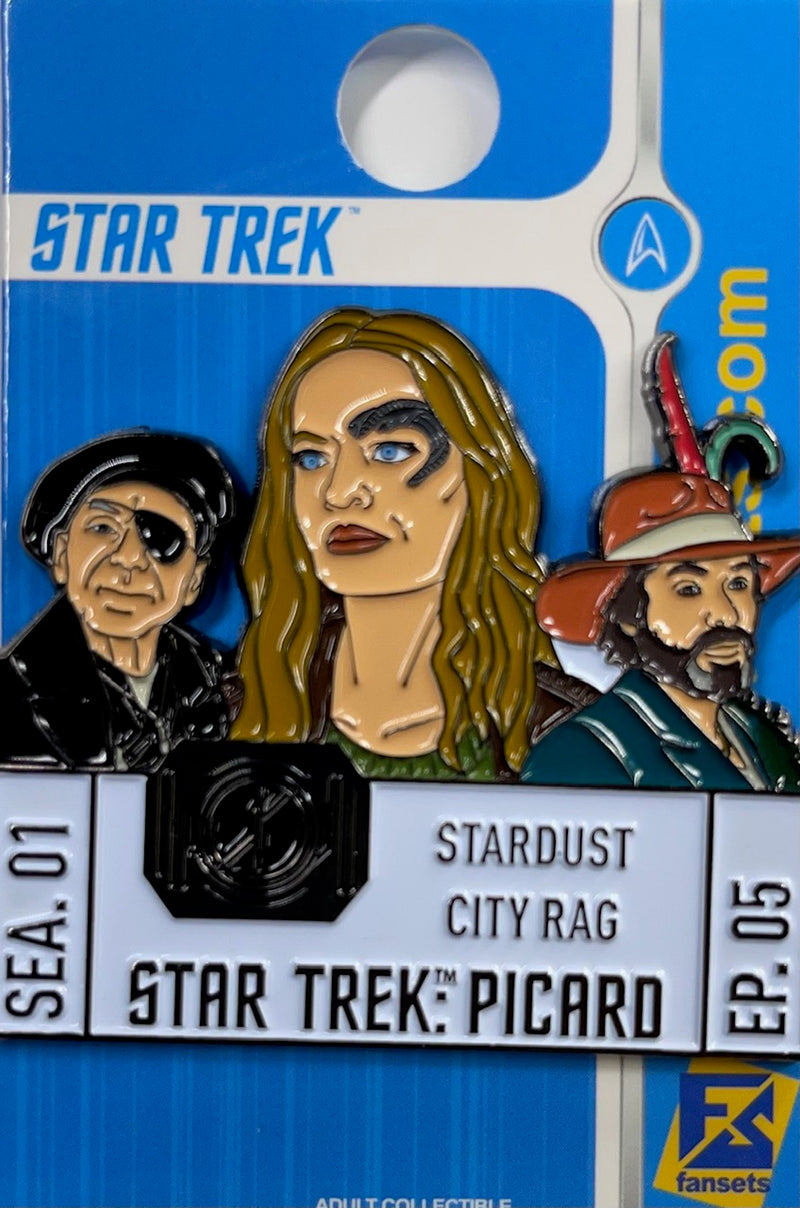 Star Trek: Picard Episode Pins Season One EPISODE FIVE Licensed FanSets Pin