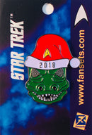 Star Trek SANTA GORN Licensed FanSets MicroCrew Collector's Pin