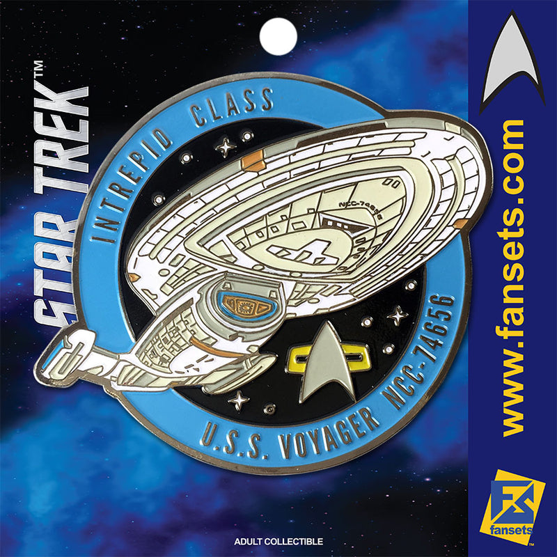 Star Trek Voyager NCC-74656 Licensed FanSets Pin