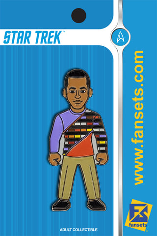 Star Trek JAKE SISKO Licensed FanSets MicroCrew Collector's Pin