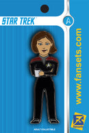 Star Trek Captain JANEWAY Licensed Fansets Pin V2