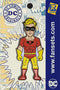 DC Comics Classic Johnny Quick Licensed FanSets Pin MicroJustice All Star Squadron