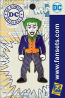 DC Comics Classic JOKER Licensed FanSets Pin MicroJustice