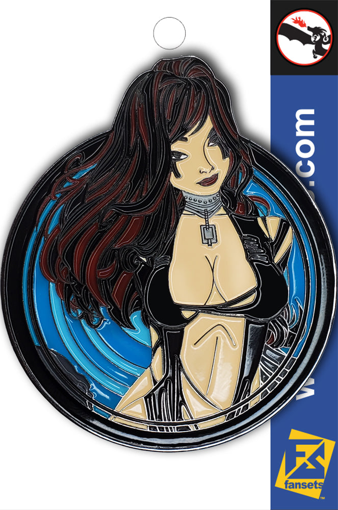 Zenescope KERES Licensed FanSets Pin