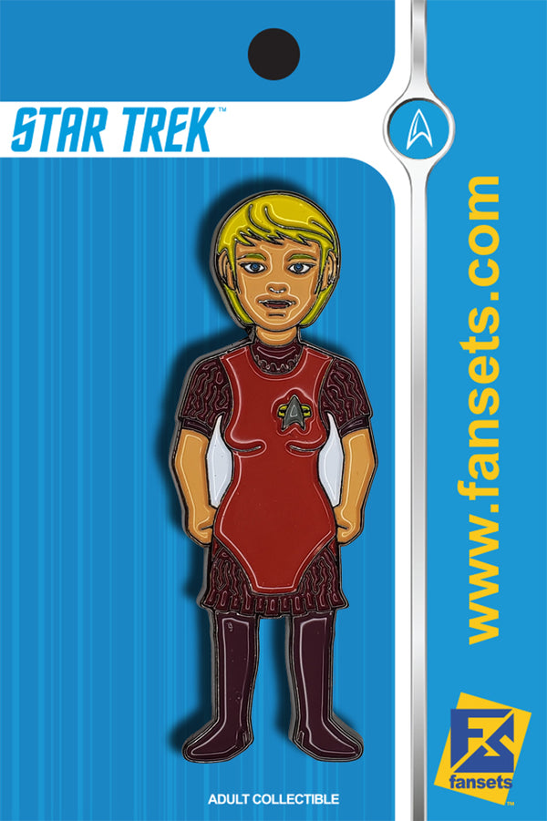 Star Trek KES Licensed FanSets MicroCrew Collector's Pin