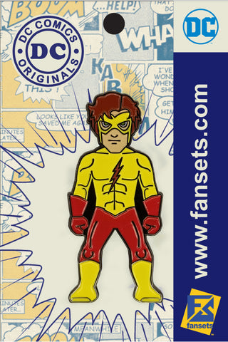 DC Comics Classic KID FLASH Teen Titans Licensed FanSets Pin MicroJustice