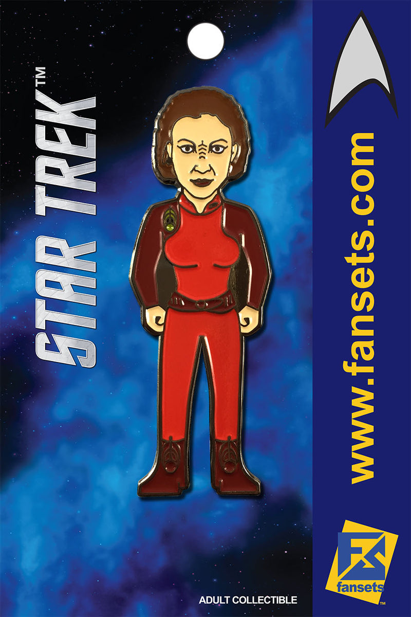 Star Trek KIRA Nerys Licensed FanSets MicroCrew Collector's Pin