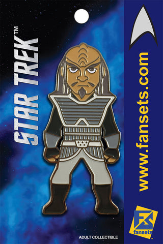 Star Trek KLINGON Licensed FanSets MicroCrew Collector's Pin