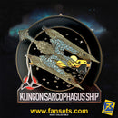 Star Trek Discovery Klingon SARCOPHAGUS Ship Licensed FanSets MicroFleet Collector's Pin