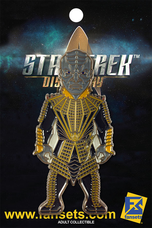 Star Trek Discovery T'KUVMA Licensed FanSets MicroCrew Collector's Pin`