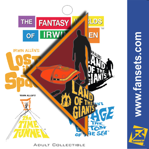 Irwin Allen's Land of the Giants Part 3 of 4 FanSets™ Pin Collection