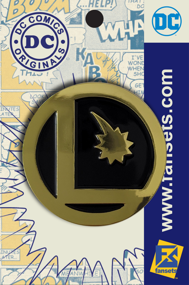 DC Comics Classic LEGION FLIGHT RING LOGO Legion of Super Heroes Licensed FanSets Pin MicroJustice