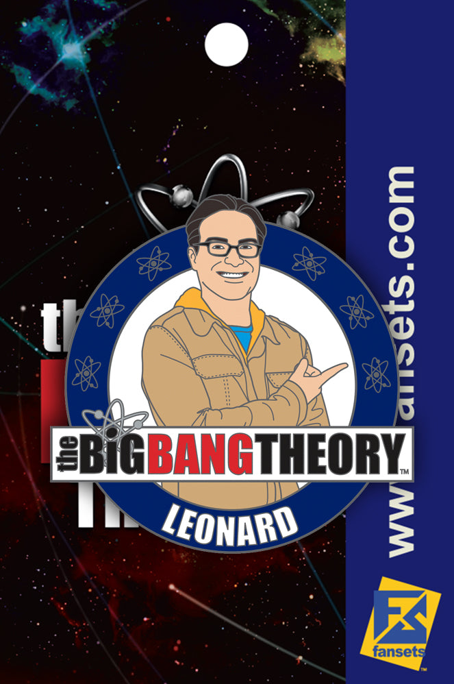 Big Bang Theory Leonard Licensed Fansets Pin