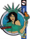 Zenescope NYCC 2018 LIBERTY Licensed FanSets Pin