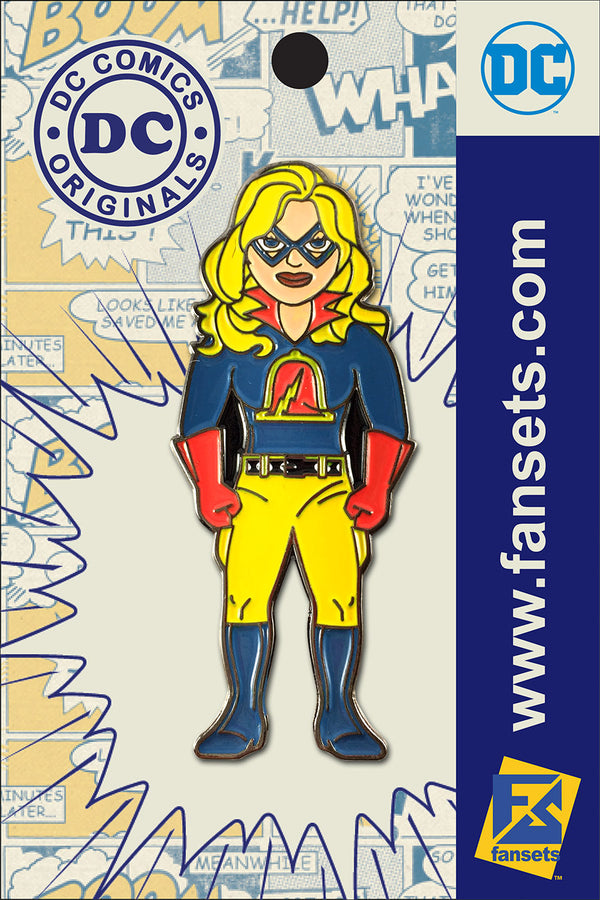 DC Comics Classic LIBERTY BELLE Licensed FanSets Pin