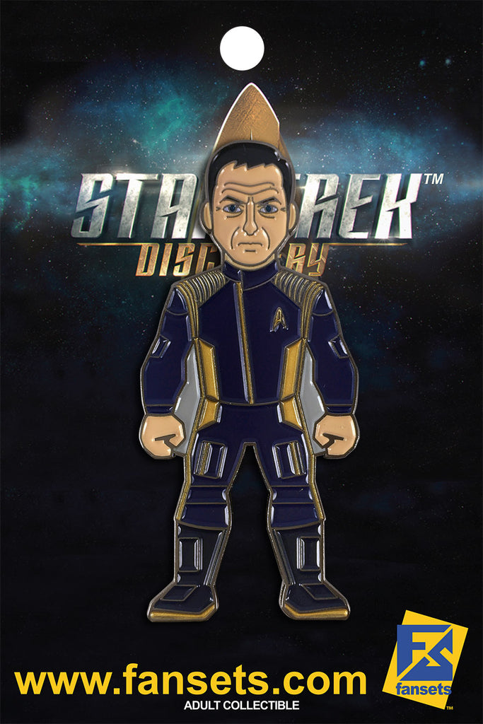 Star Trek Discovery Captain Gabriel LORCA Licensed FanSets MicroCrew Collector's Pin
