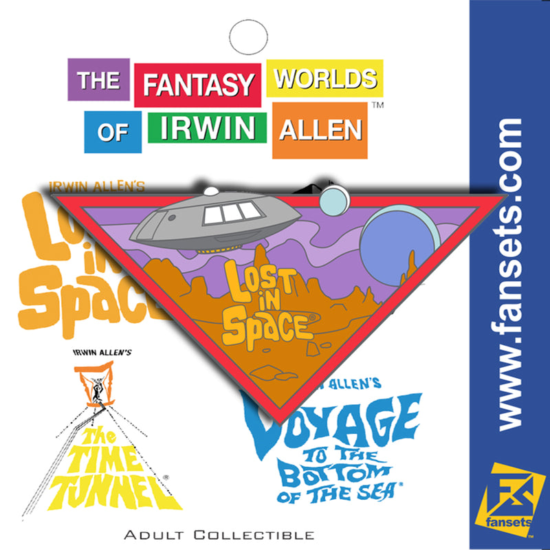 Irwin Allen's 4 Pack FanSets™ Pin Collection