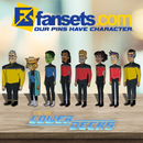 Star Trek Lower Decks COMPLETE SERIES ONE Collection Licensed FanSets MicroCrew Collector's Pin