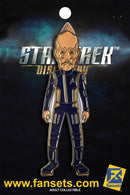 Star Trek Discovery Lt. Commander SARU GOLD Licensed FanSets MicroCrew Collector's Pin