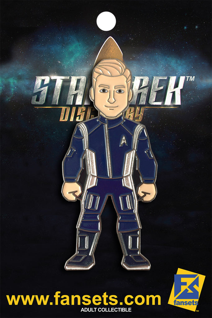 Star Trek Discovery Lt. Paul STAMETS Licensed FanSets MicroCrew Collector's Pin