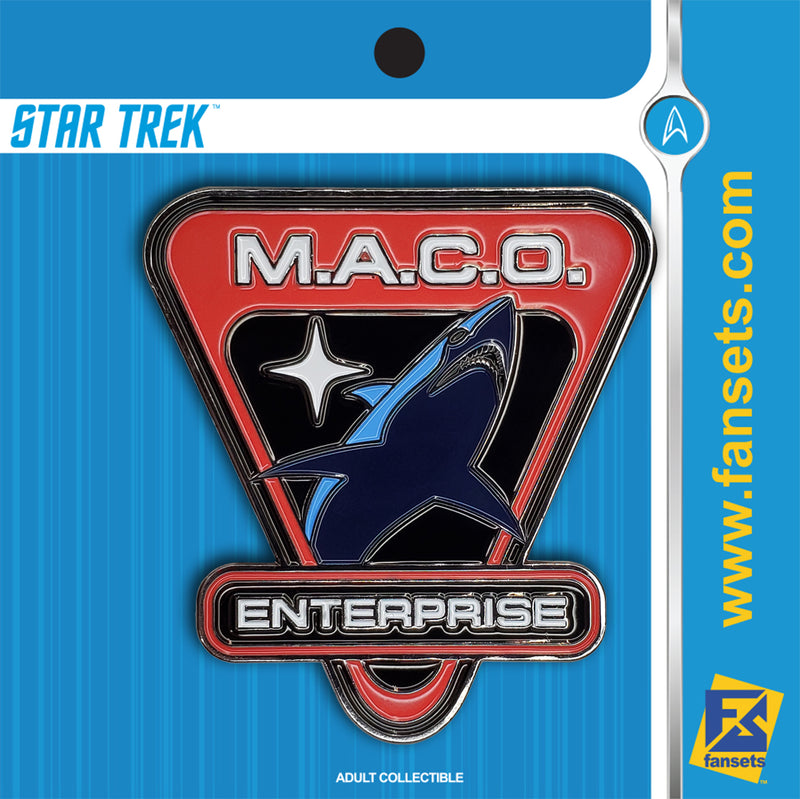Star Trek Enterprise MACO Logo Licensed FanSets Pin