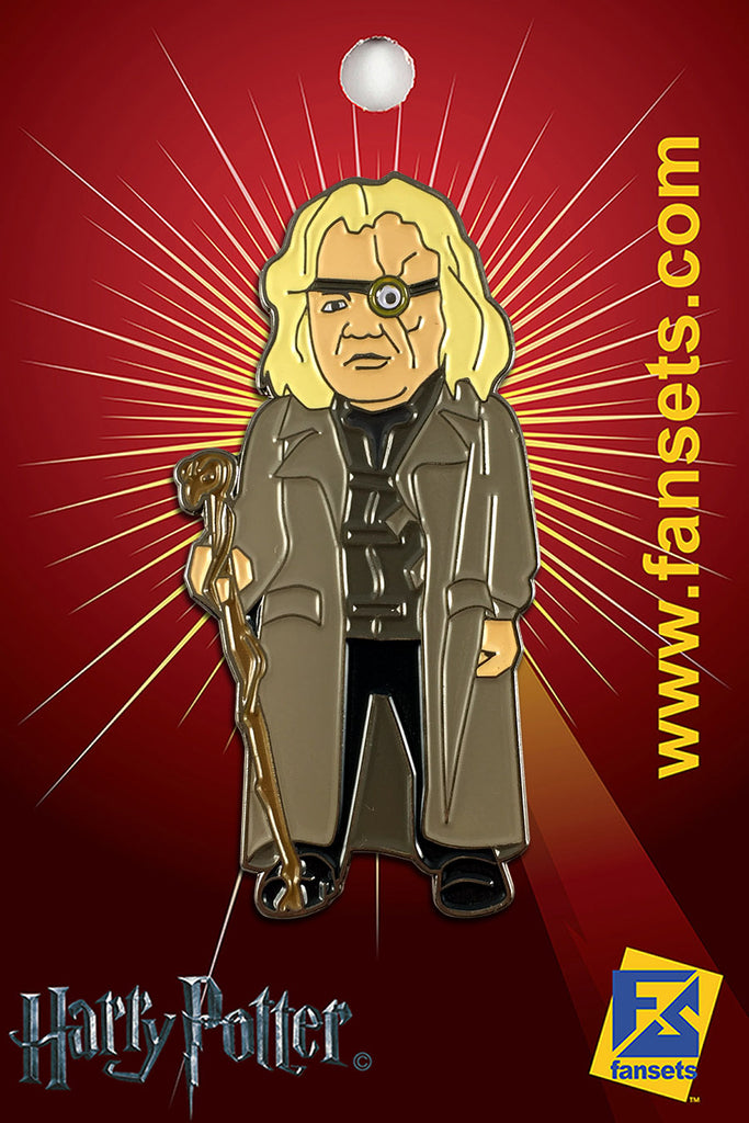 Harry Potter MAD-Eye Moody Licensed FanSets Pin MicroMagic