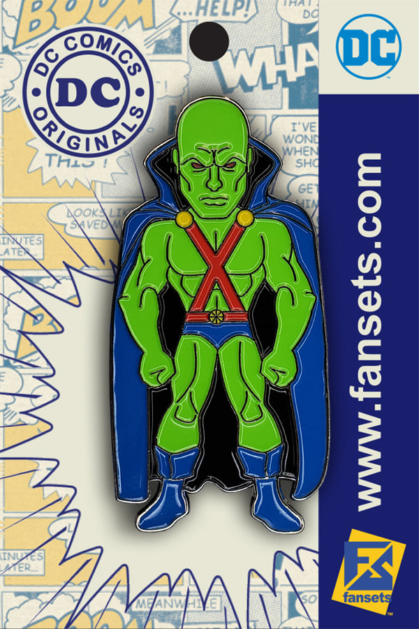 DC Comics Classic Martian Manhunter Licensed FanSets Pin