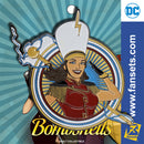DC Comics Bombshells MARY MARVEL Badge Licensed FanSets Pin