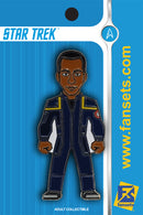 Star Trek Travis Mayweather Licensed FanSets Pin