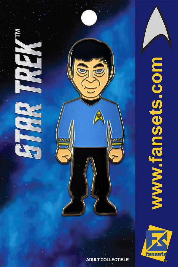 Star Trek DR. McCOY Licensed FanSets MicroCrew Collector's Pin