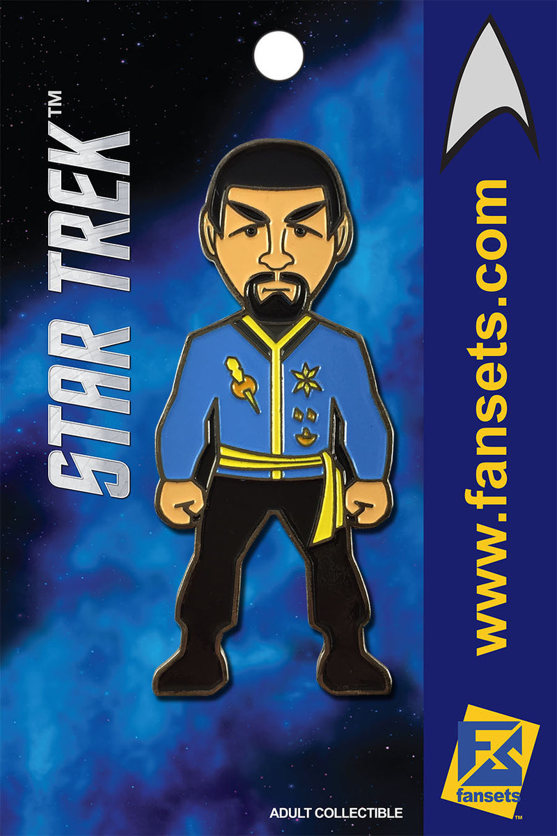 Star Trek MIRROR SPOCK Licensed FanSets MicroCrew Collector's Pin